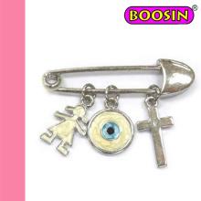 Moda Jóias Atacado Evil Eyes Pin Broche # 5905
