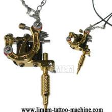 Mini collier de tatouage de pistolet de tatouage