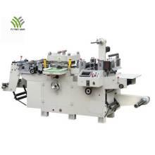 High speed label flatbed die cutting machine