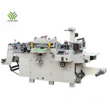 Máquina automática de corte e vinco para adesivos de papel