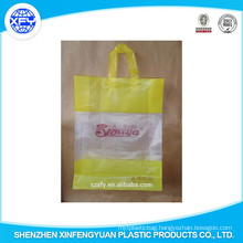 Customized Printed Logo PO Shopping Bag with Handle