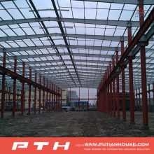Pth Customized Low Cost Estructura de acero prefabricada Warehouse