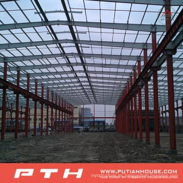 2015 Pth diseño personalizado bajo costo estructura de acero almacén