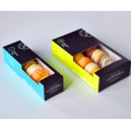 Flat Packed 12 Macaron Packaging Box with Window