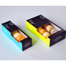 Reliable for Food Packaging Box Flat Packed 12 Macaron Packaging Box with Window export to Japan Importers