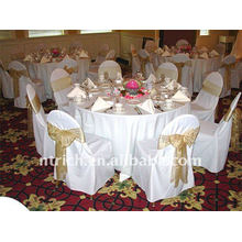 Standard banquet chair cover,CT049 polyester material,durable and easy washable