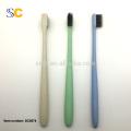A goma macia dos cuidados dentários do lote da escova de dentes para adultos macia protege / escova de dentes feita na china / escova de dentes