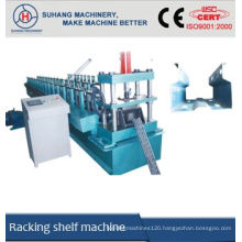 Metal storage rack roll forming machine