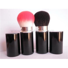 Portable Black Handle Skin Care Retractable Brush
