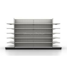Langlebige Metall-Supermarkt-Ausrüstung Freistehende schwere Lagerung Gondel Regalsystem