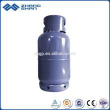 Cilindro de gás GLP de 15 kg de aço inoxidável composto