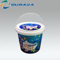 customized Round Plastic bucket Container