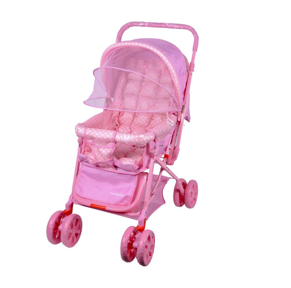 With Mosquito Net Baby Stroller