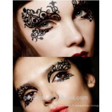 Autocollants faux de tatouage de faux de décoration d'oeil pour la partie (conception faite sur commande)