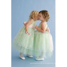 Mit hochwertigem Tüll, schönes Blumenmädchen-Kleid gemacht zu werden