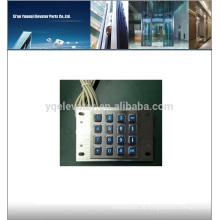 SNK088E Metalltastatur, Hintergrundtastatur, Aufzugstastatur