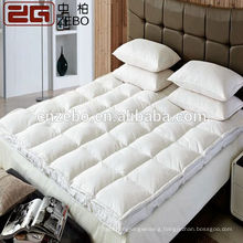 Hilton Hotel High Quality Guangzhou Manufacture Wholesale Down Filling Hotel Mattress Topper