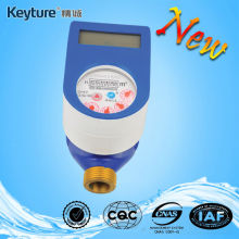 IC Card Prepaid Water Meter Brass(Blue)