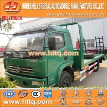 DONGFENG brand 120hp charge 6-7tons 4X2 machine equipment transport truck nouvellement exporté pour l'Afrique.