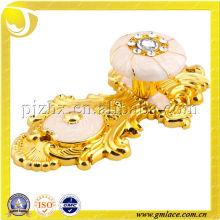 Oro Plástico Antiguo Cortina Tassel Gancho titular, accesorio de la cortina