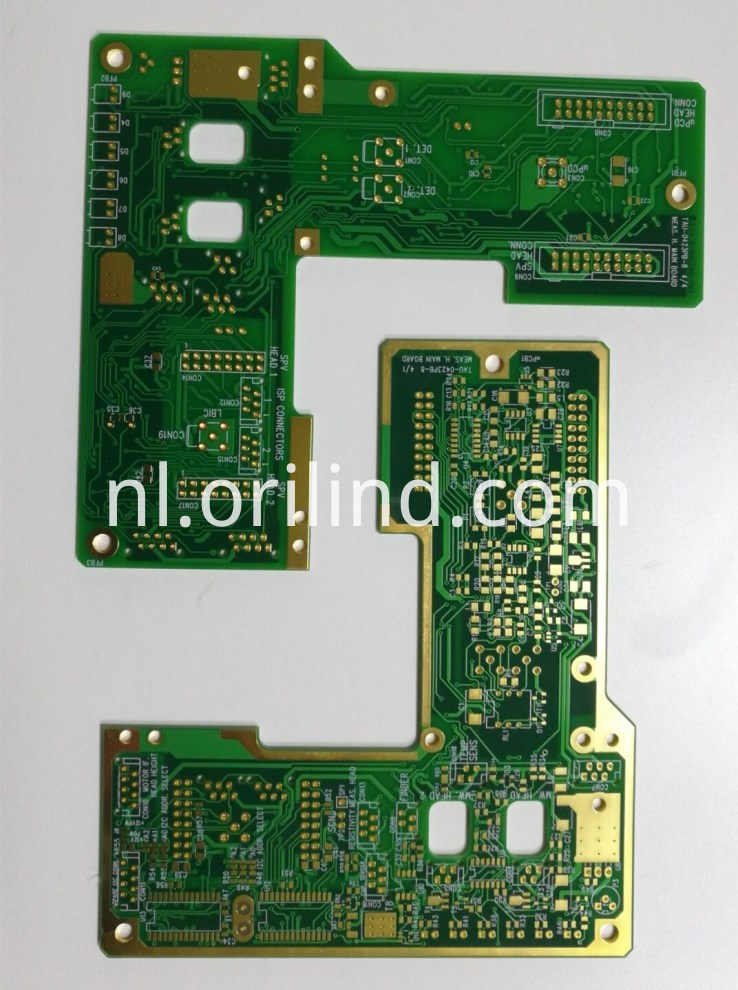 Multilayer rigid ENIG board
