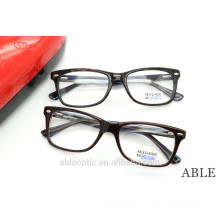 2015 high quality colored fashion CLASSIC acetate hand made spectacles optical frames eyewear eyeglasses