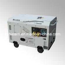 Conjunto de generador diesel de dos cilindros refrigerados por aire (DG15000SE)