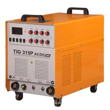 315A Machine de soudage TIG à variateur d'impulsions / impulsions DC / DC (TIG315P AC / DC)
