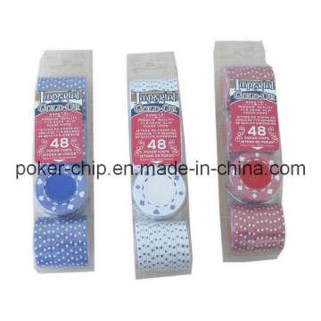 48PCS Poker Chip Set in Blister Tray (SY-S03)