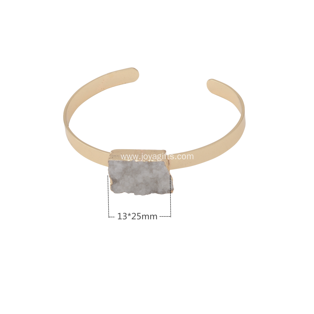 fashion charm sterling natural clear crystal bracelet with wholesale best price