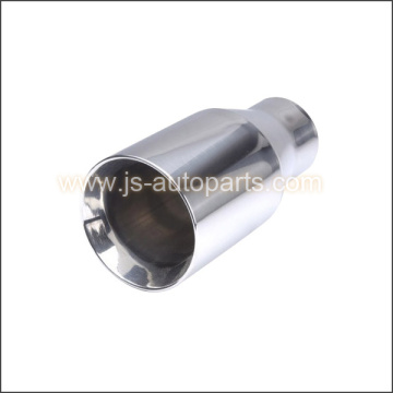 "2.25"" ROUND CONE SPORTS EXHAUST TAIL PIPE STRAIGHT CUT"