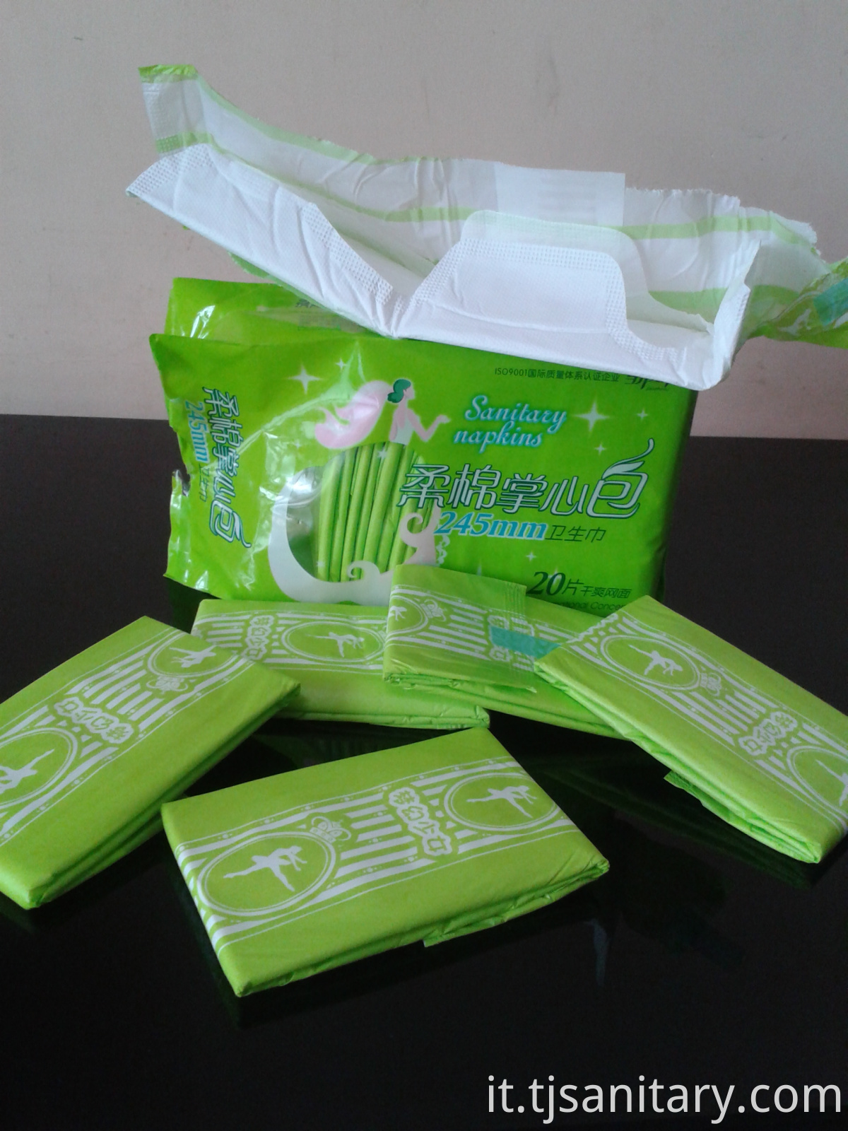 245mm sanitary towels