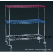 NSF Anti-Static ESD Industrial Rolling Cart/ Metal Trolley/Utility Cart / (HD183636A3W)