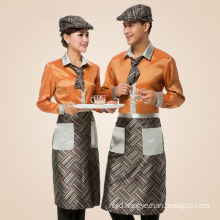 Autumn Restaurant Waiter Uniform Hotel Food Service Waitress Uniform