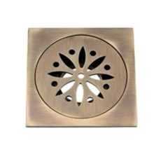 Square Copper Shower Drain
