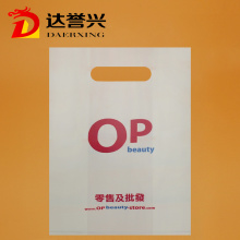 HDPE Die Cut Bag with OP Logo