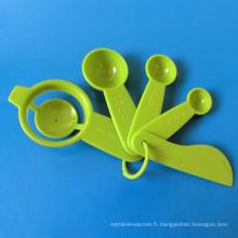 5pcs outil de cuisson avec séparateur d'oeufs / cuillère à mesurer / épandeur