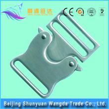 Boucle de sac métallique en métal à haute qualité personnalisée pour sacs à main