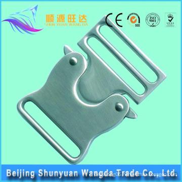 High Quality Customized Brass Lock Metal Bag Buckle for Handbags