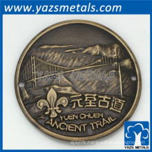 custom gift metal made cheap coin die stamping