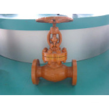 Flange Globe Valve with Painting
