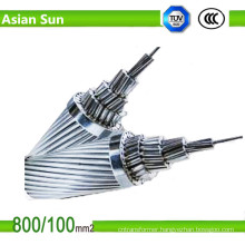 Zinc-Coated Hot Dipped Galvanized Steel Reinforced Overhead ACSR Wire