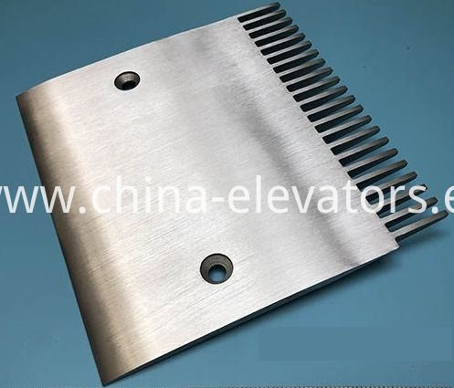 Aluminum Comb Plate for Hyundai Escalators 22 Teeth