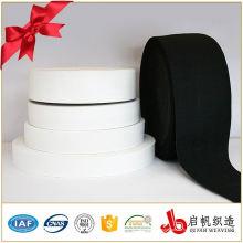 Benutzerdefinierte Breite und Farbe Gestrickte Gummiband für Unterwäsche