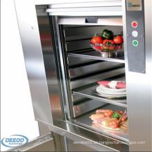 Pequeño montacargas barato interior del elevador de la comida 250kg