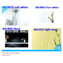 Waterproof Back Painted Glass Panels for Wall Cladding or Other Interior Designs