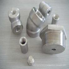 Raccords de tuyauterie de précision de moulage de précision d'acier inoxydable
