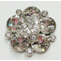 Charming Rhinestone Flowers Women's Shoe Clips