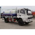 Camión de agua Shacman 4X2 drive para 3-12 metros cúbicos