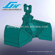 Abrazadera hidráulica para excavadora Grab Bucket Abrazadera hidráulica